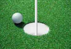 Golfbunker stockfotos