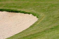 Golfbunker Arkivfoto