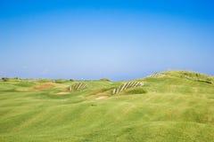 Golfbunker Stock Afbeelding