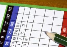 Golfcard2 Fotografia Stock Libera da Diritti