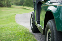 golfcart Стоковое Изображение RF