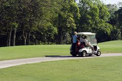 Golfcart Stock Photo