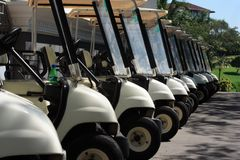 Golfcart Royalty Free Stock Images