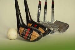 Golfchaufförer och boll tonat foto Royaltyfri Foto