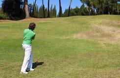 Golfchip stockbilder