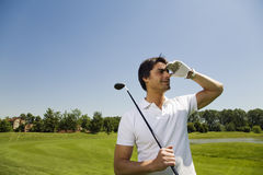 Golfclub Stockbild