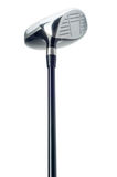 Golfclub auf weißem Hintergrund Stockfotos