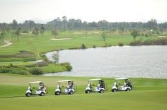 Golfclub in Thailand Stockfotos