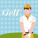 Golfclubconcept vector illustratie