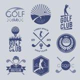 Golfclubetiket Stock Fotografie