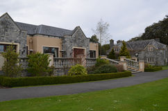 Golfclubhuis bij Adare-Manor in Ierland Royalty-vrije Stock Fotografie