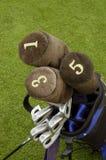 Golfclubs 1 Stock Foto's
