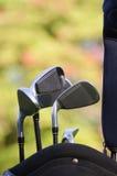 Golfclubs Lizenzfreie Stockfotos