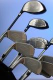 Golfclubs Stock Foto's