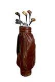Golfclubs im Beutel Stockfotos
