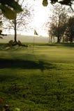 Golfcourse Lizenzfreie Stockfotos