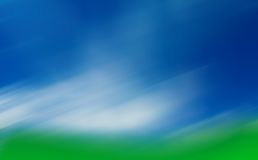 Golfcourse blur