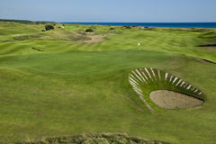 Golfcourse Lykia Turkey Stock Images