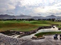 Golfcourse Thailand Hua Hin Stockfotografie