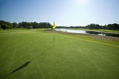 Golfcourse in Turkey Antalya Stock Photo