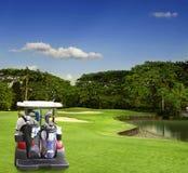 Golfcursus Royalty-vrije Stock Afbeelding