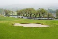 Golfcursus Royalty-vrije Stock Foto's