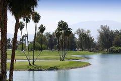 Golfcursus bij de het golftoernooien 2015 van de ANAinspiratie Stock Afbeelding