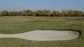 Golfcursus in Mezhigirya stock videobeelden
