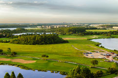 Golfcursus in Orlando - de V.S. Stock Foto