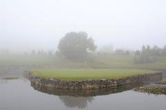 Golfcursus - Tsjechische Republiek Stock Foto