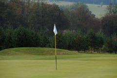 Golfcursus - Tsjechische Republiek Stock Afbeeldingen