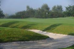 Golfcursus - Tsjechische Republiek Stock Foto's