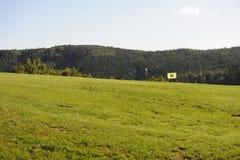 Golfcursus - Tsjechische Republiek Royalty-vrije Stock Afbeelding