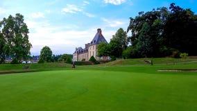 Golfdes Ormes Brittany France arkivbild