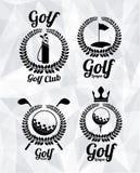 Golfdesign stock abbildung