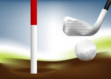 Golfe 03 Fotografia de Stock Royalty Free
