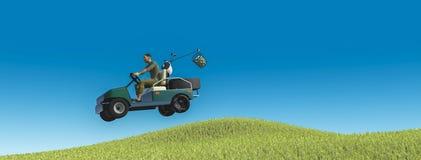 Golfe ilustração do vetor