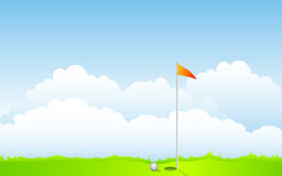 Golfe Foto de Stock Royalty Free