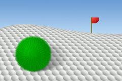 Golfe alternativo ilustração stock
