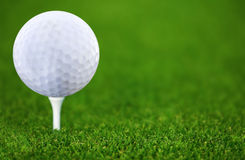 Golfe-bal Foto de Stock