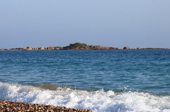 Golfe d'Alanya Image libre de droits