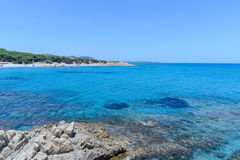 Golfe d'Orosei en Sardaigne, Italie Photographie stock libre de droits