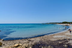 Golfe d'Orosei en Sardaigne Italie Photos libres de droits