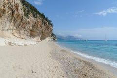 Golfe d'Orosei en Sardaigne, Italie Image libre de droits