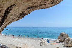 Golfe d'Orosei en Sardaigne, Italie Photos stock