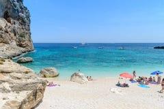 Golfe d'Orosei en Sardaigne, Italie Images stock