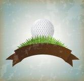 Golfe da bola ilustração do vetor