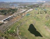 Golfe da cidade Fotografia de Stock Royalty Free