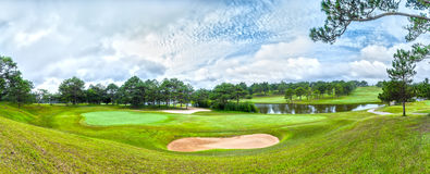Golfe Dalat do panorama Fotografia de Stock
