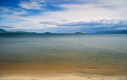 Golfe de Chivyrkuisky du lac Baïkal Photo stock